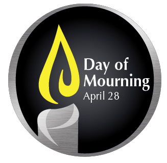Day of Mourning Logo and Sticker
