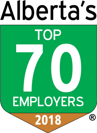 Alberta's top 70 Employers 2017