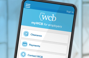myWCB app for employers
